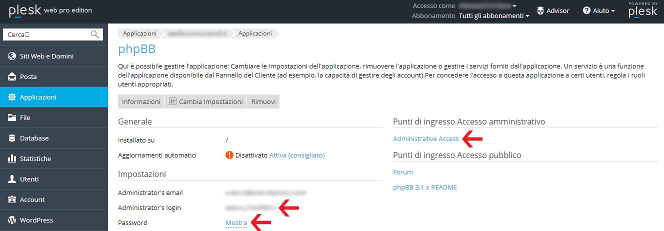 Come configurare phpbb in italiano